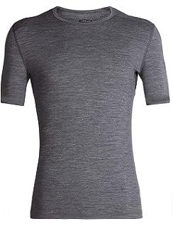 2d6b96295f4 Icebreaker Merino Men's Oasis Midweight Base Layer Short Sleeve Crew Neck  Shirt, Merino Wool