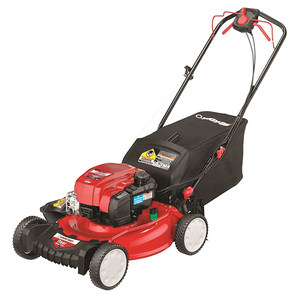 Troy-Bilt TB330 163cc 21-inch 3-in-1 Rear Wheel Drive Self-Propelled Lawnmower Review