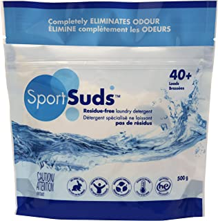 product image for Sport Suds Sport Detergent | Odor Remover Sport Wash 500g Zipper Pouch 40+ Loads