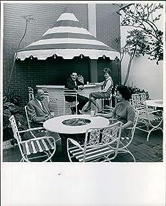Vintage Photos 1966 Pepsi Cola Ny Firm Bottling Miami Fl Plants Patio Furniture 8X10