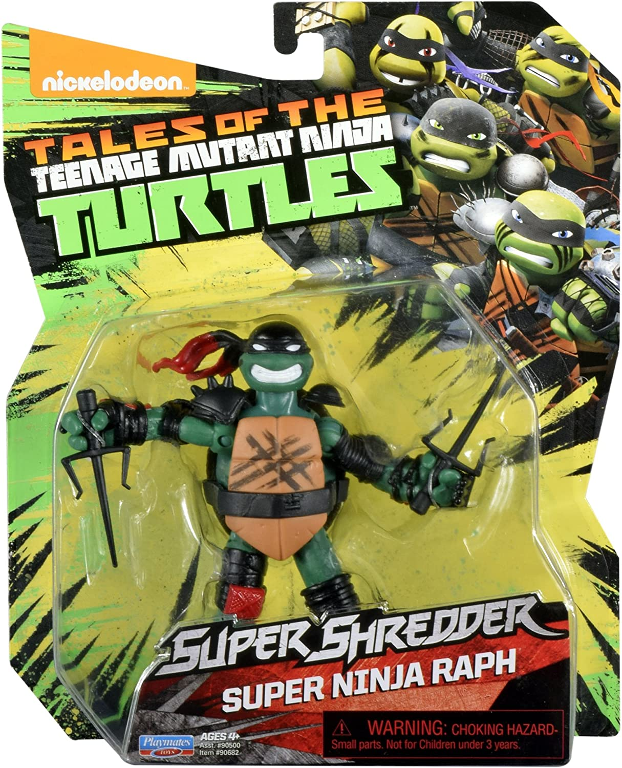 Amazon.com: Teenage Mutant Ninja Turtles Super Ninja Raphael ...