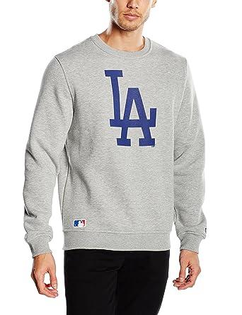 New Era MLB Crew Sweat LA Dodgers, Felpa Uomo: Amazon.it