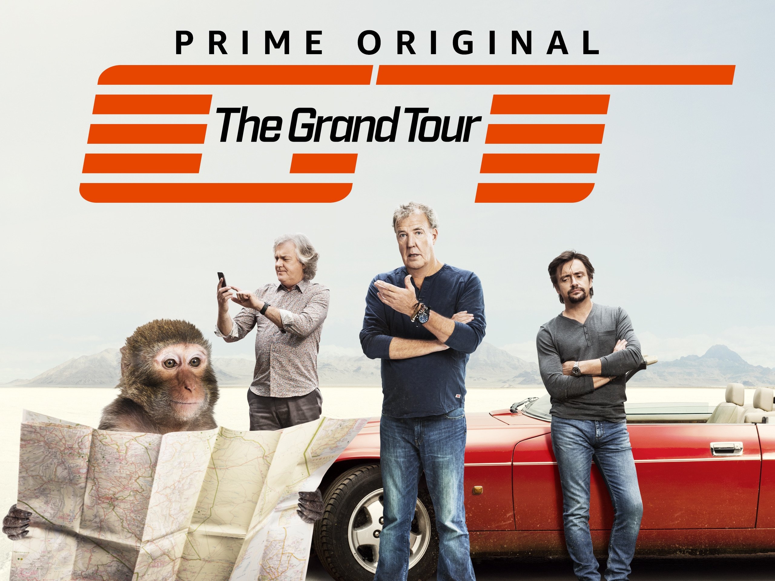Amazon.com: The Grand Tour Season 2: Jeremy Clarkson, Richard Hammond,  James May, Mike Skinner, Abbie Eaton, Golden Earring, Simon Pegg, David  Hasselhoff, ...