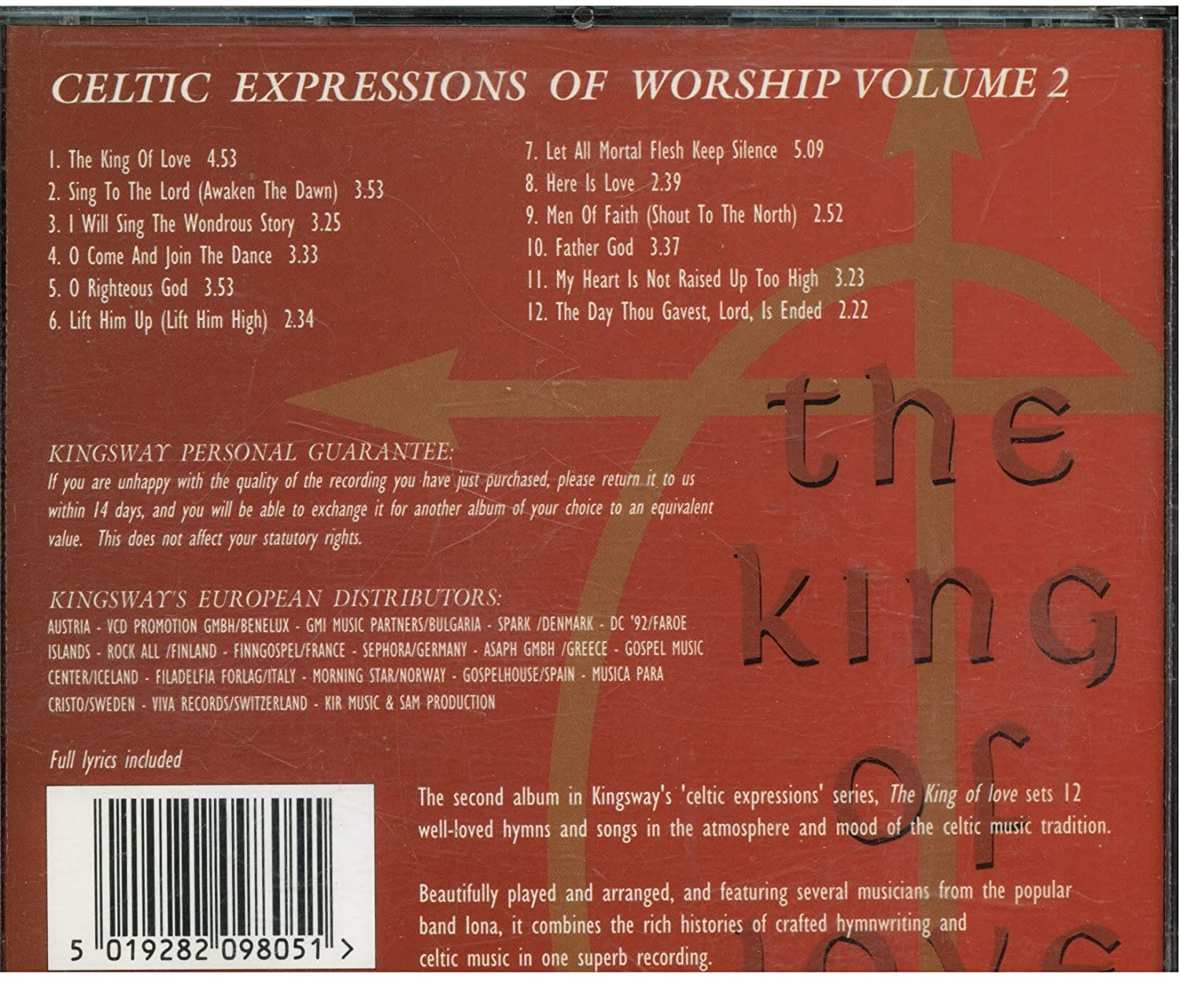 Celtic Expressions of Worship Volume 2 - Amazon com Music