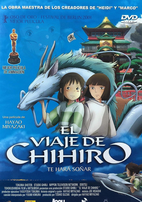 El Viaje De Chihiro Dvd Amazon Es Hayao Miyazaki Cine Y Series Tv
