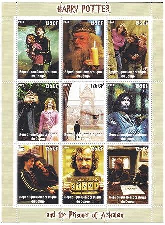 Amazon.com: Harry Potter sellos para coleccionistas, con ...
