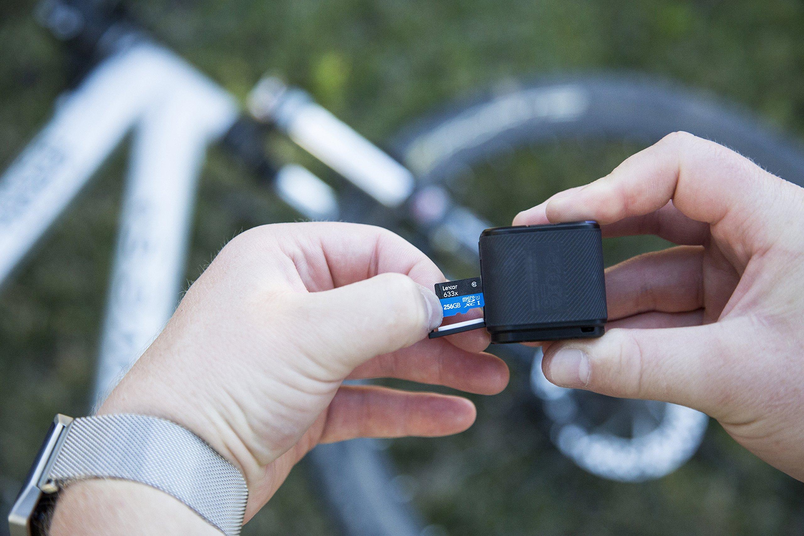 Lexar High-Performance microSDXC 633x 256GB UHS-I Card w/SD Adapter - LSDMI256BBNL633A by Lexar (Image #6)