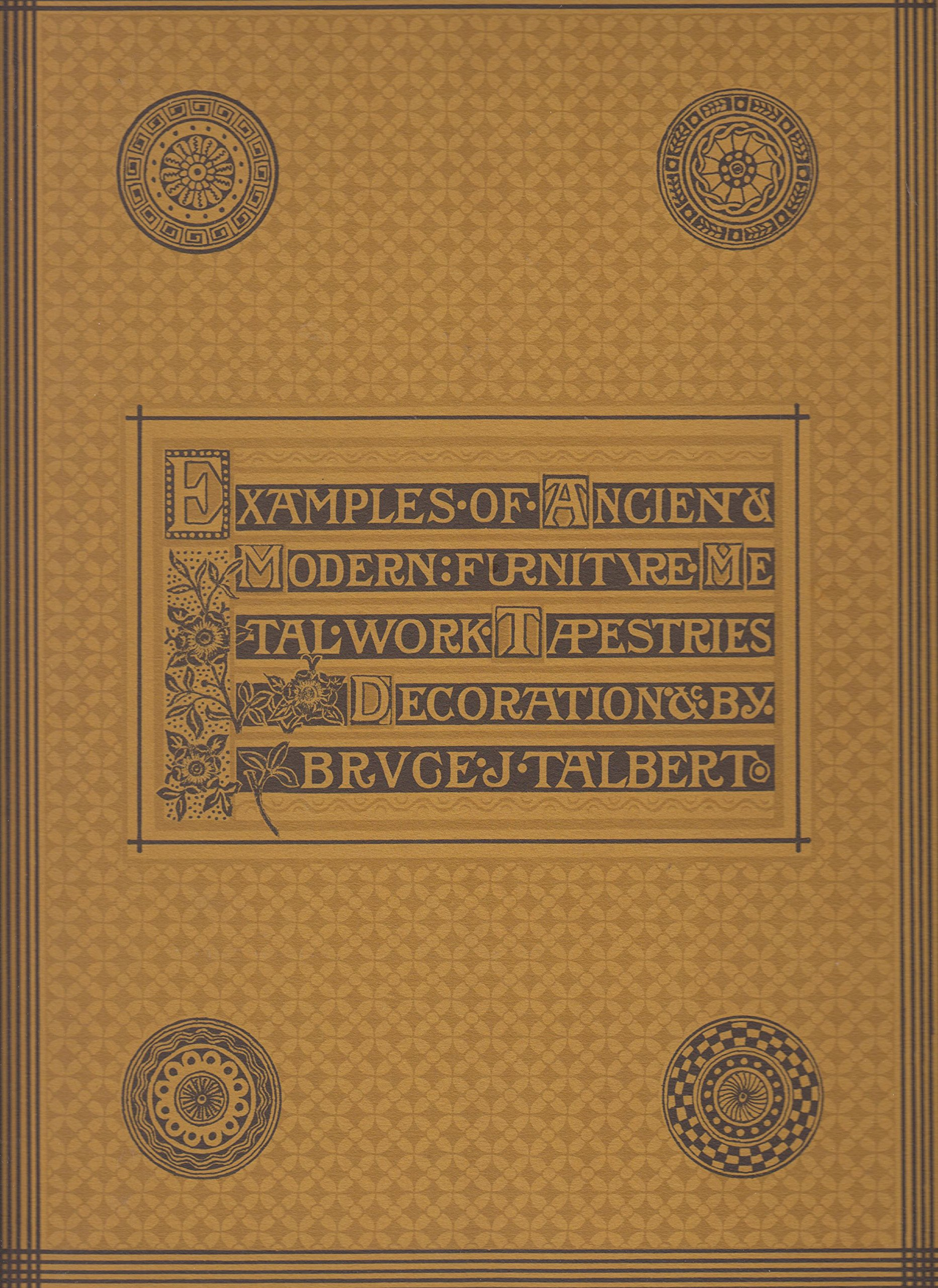 Victorian decorative arts examples of ancient modern furniture metalwork tapestries paperback 1978