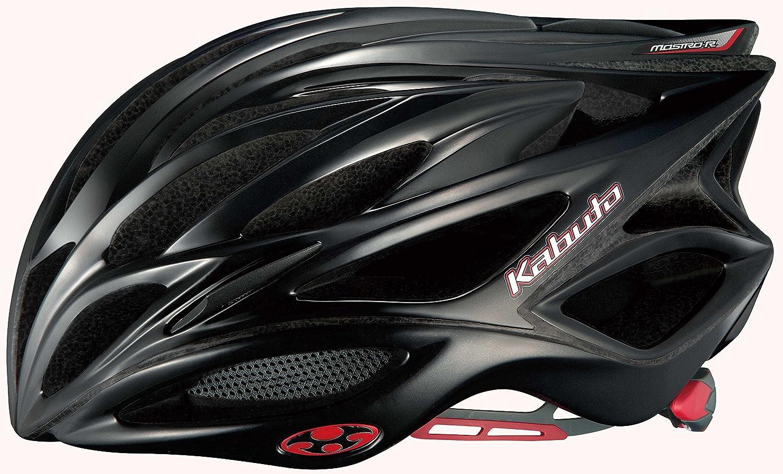 オージーケー(OGK) MOSTRO-R(モストロR) ヘルメット S/M ブラック B00UYB17DO