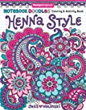 Henna Style Adult Coloring Book (Notebook Doodles)