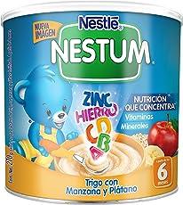 Nestum Cereal Trigo con Manzana y Plátano, Etapa 2, lata 270 g