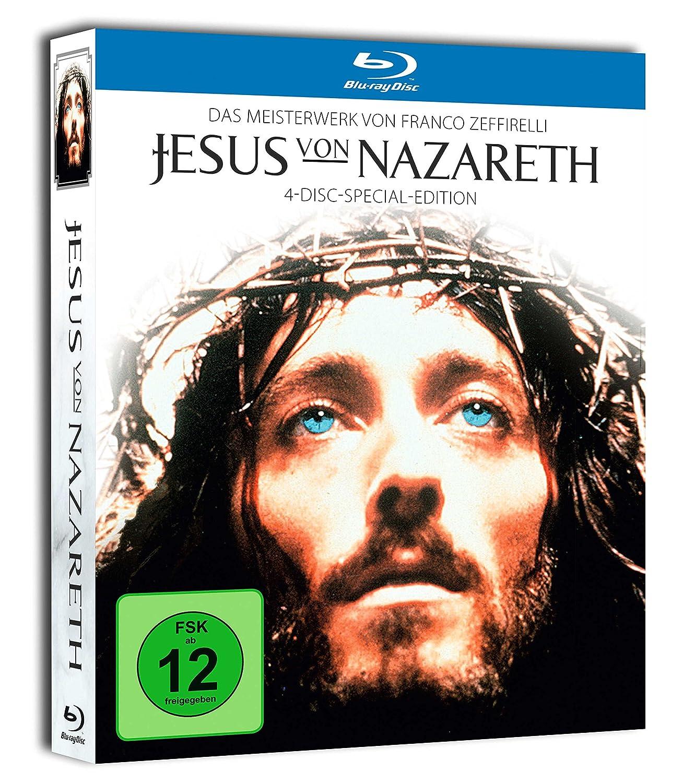Jesus Von Nazareth Jesus Von Blu Ray 1977 Amazonco