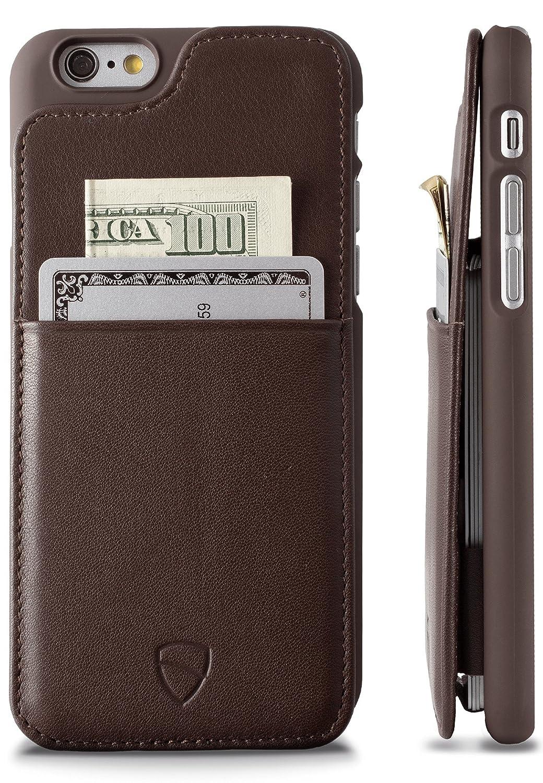 Vaultskin Iphone 6 Case Eton Iphone 6 4 7 Case Wallet Black Premium Wallet Case Holds Up To 8 Cards Premium Genuine Leather Iphone 6 Black