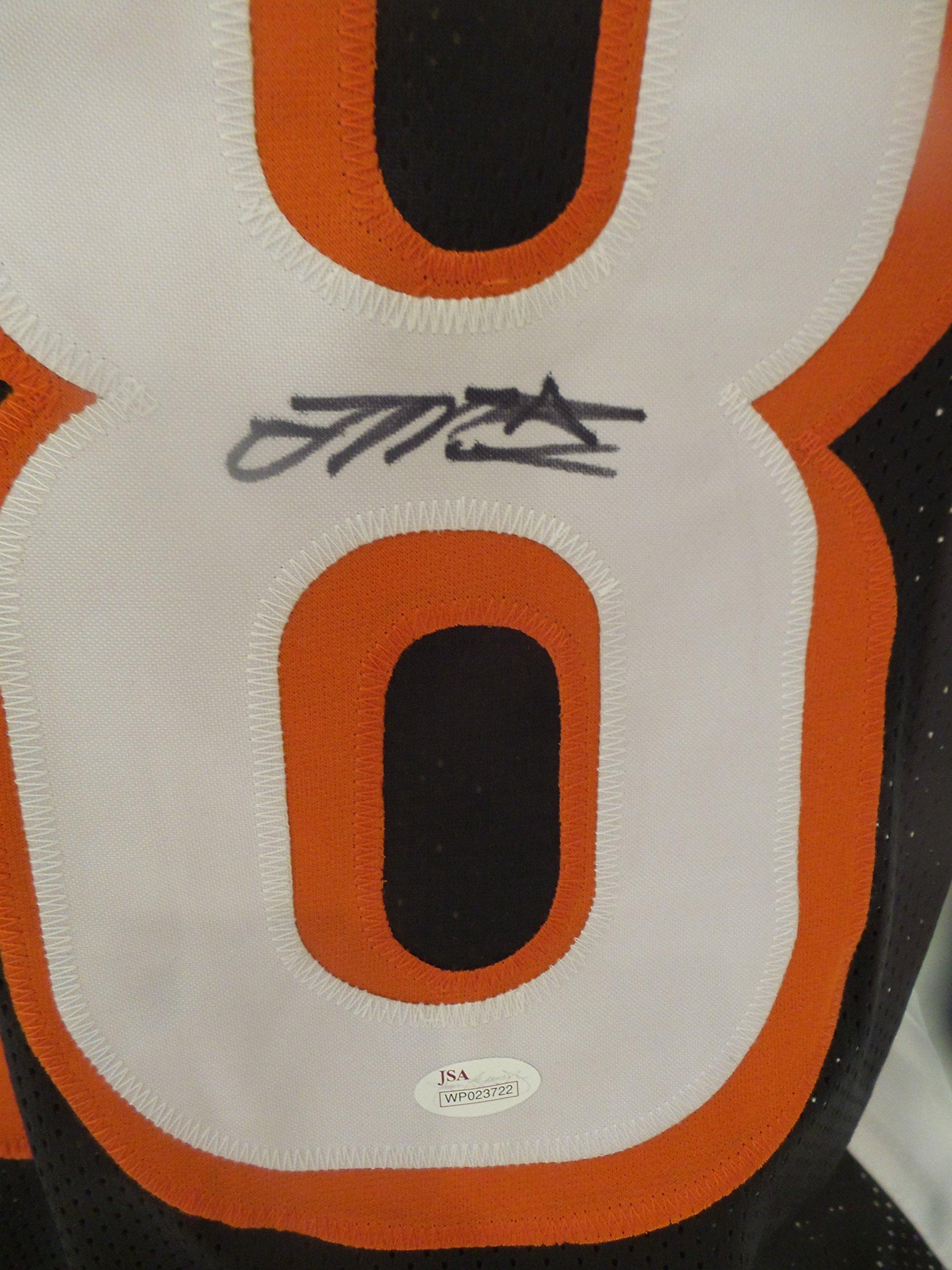 b2db9ea5d Joe Mixon Signed Cincinnati Bengals Black Autographed Jersey JSA ...