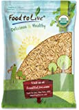 Food to Live Certified Organic Brown Basmati Rice (Raw, Long Grain, Non-GMO, Bulk) (10 Pounds)