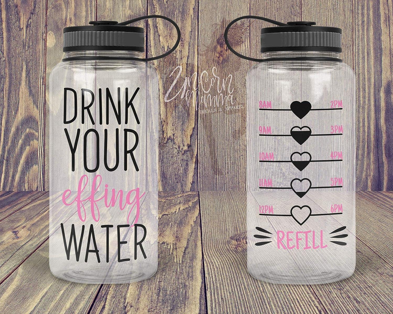 Beba su agua de efecto - rastreador de botella de agua - solo ...