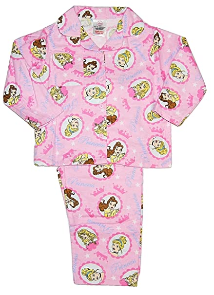4e68d9c68 Disney Princess Girls PJs Pyjamas Flannelette Winceyette 12-18 ...