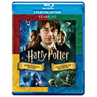 Harry Potter: The Complete 2 Movies Collection (Years 1 & 2) - HP and the Sorcerer's Stone + HP and the Chamber of Secrets (2-Disc)