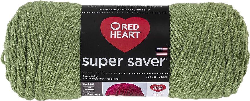 Red Heart E300.0312 Super Saver Yarn Black