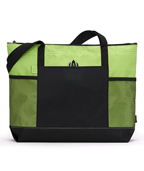 f024220ec Amazon.com | Gemline Select Zippered Tote Bag 1100 | Travel Totes