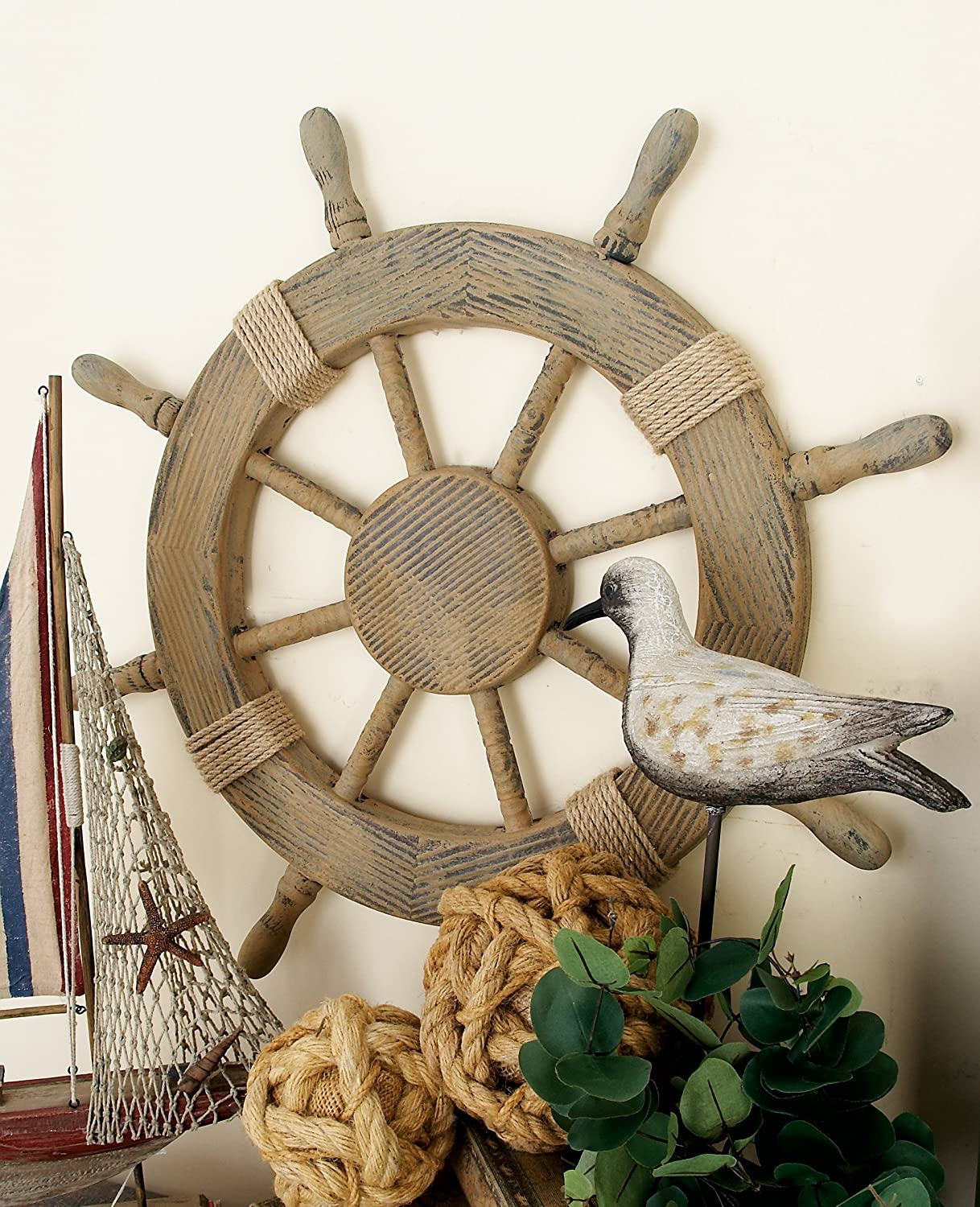 Amazon nautical decor 24 wood pirates ship wheel marine amazon nautical decor 24 wood pirates ship wheel marine decor home kitchen amipublicfo Images