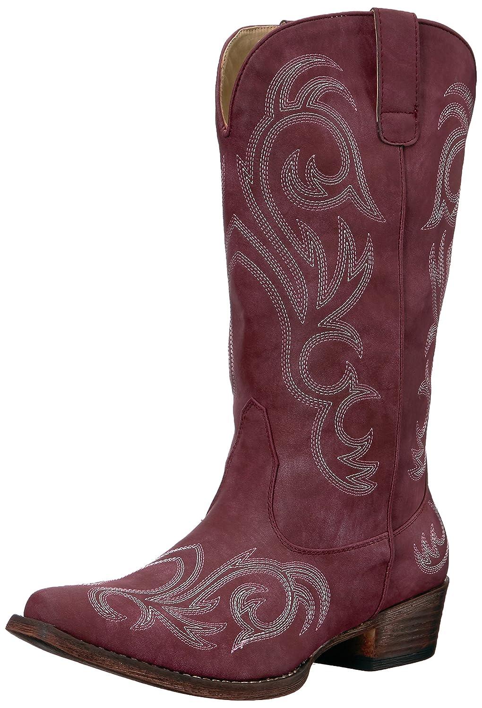 Roper Women's Riley Western Boot B06WWNBQBL 8.5 D US|Red