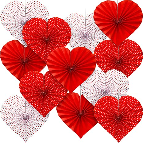 Birthday Decorations Red Honeycomb Paper Decoration Valentines Day Decor Wedding Decor Party Decorations Baby Shower Decoration