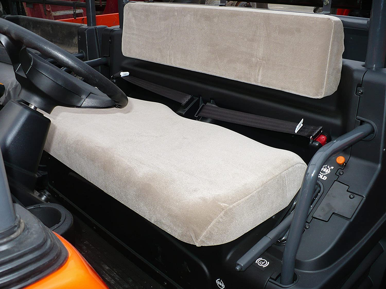 Kubota Rtv 1100 >> Durafit Seat Covers Kubota Rtv 1100 Gray Velour Seat Covers