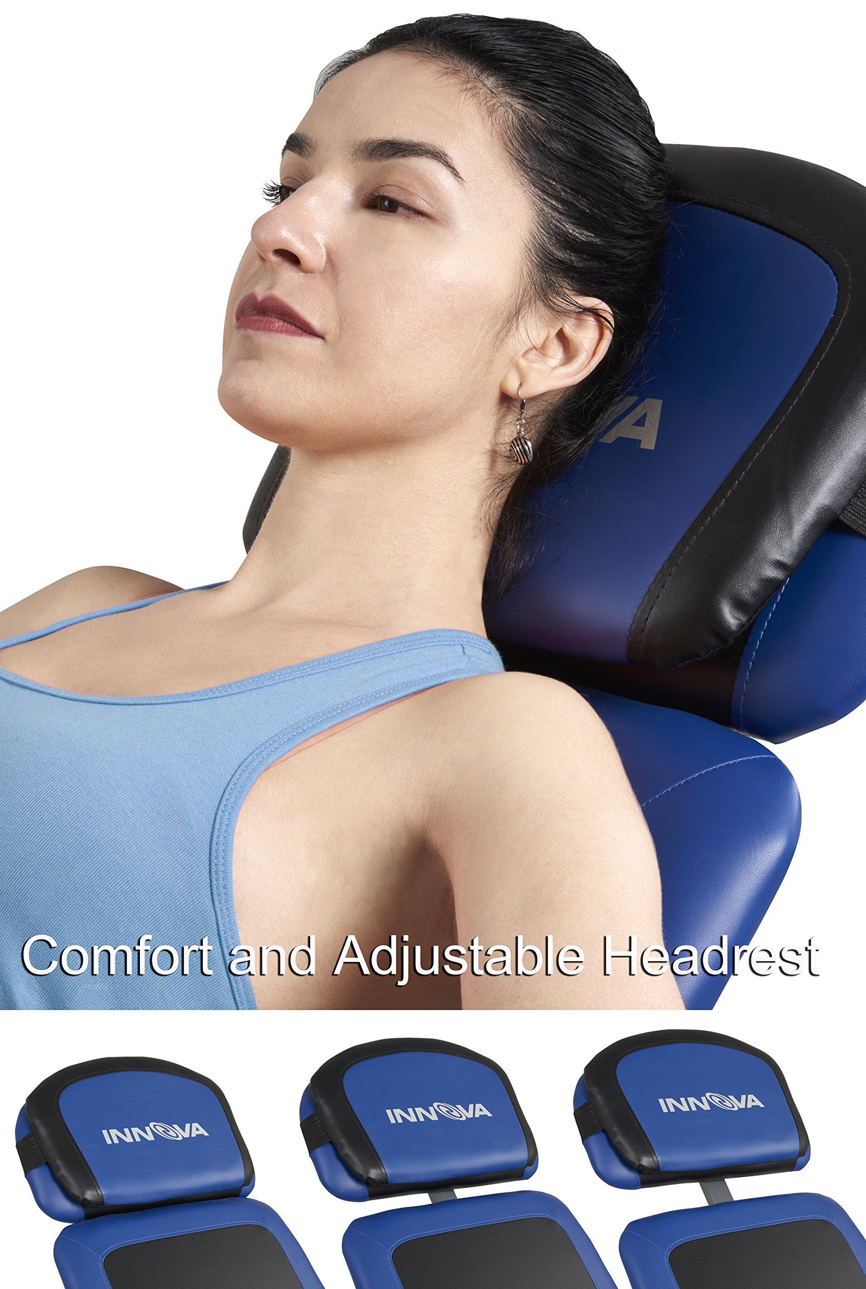 Advanced Heat and Massage Therapeutic Inversion Table
