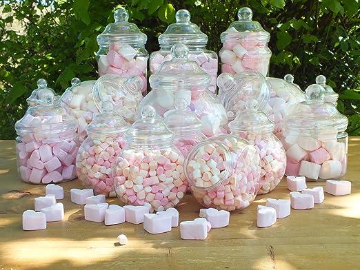 Jars2u - Juego de 19 tarros surtidos de plástico: Amazon.es ...