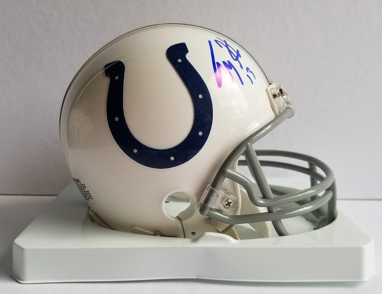 TY Hilton Autographed Signed Mini Helmet Indianapolis Colts JSA