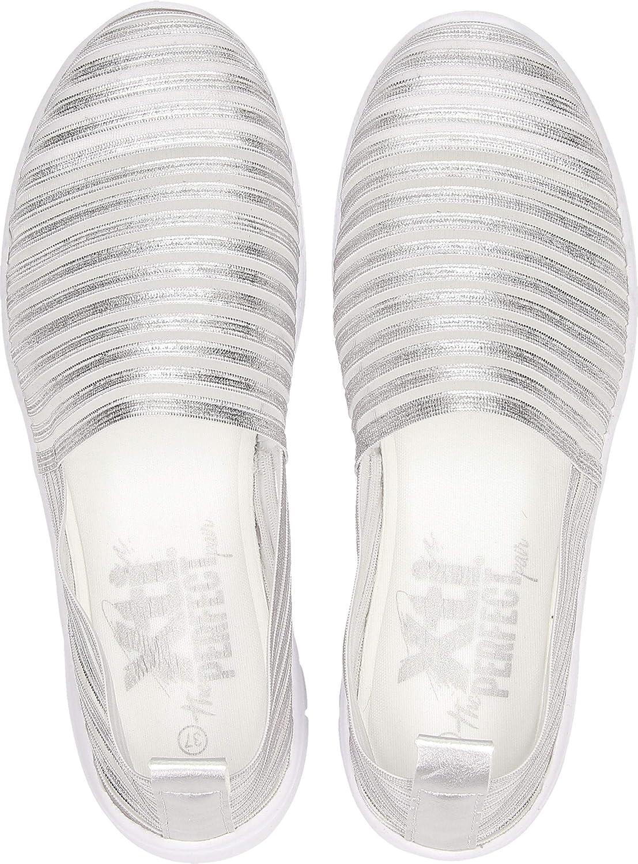 XTI 48059, Zapatillas sin Cordones para Mujer Plata nOgfD