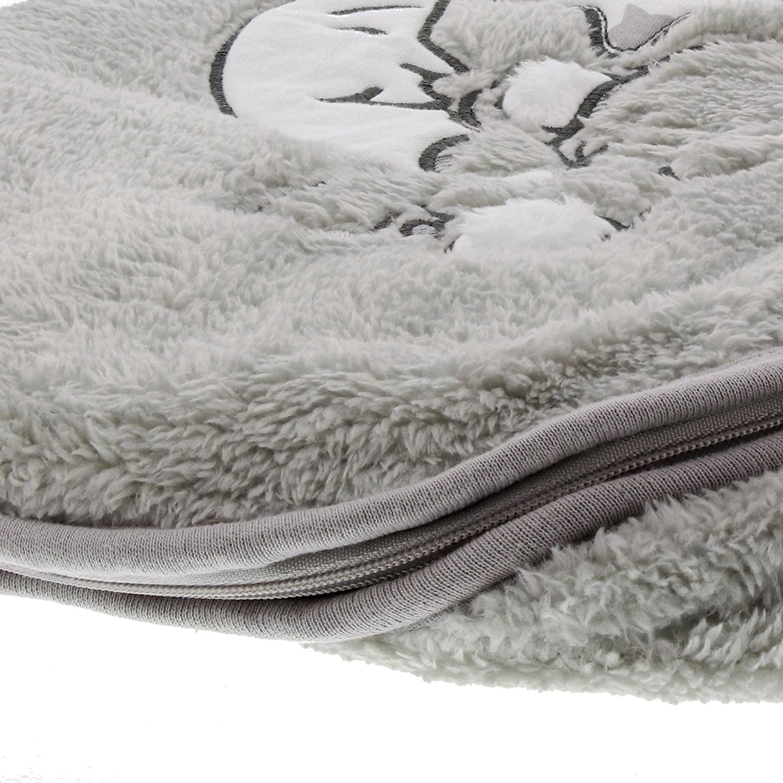 Jacky Elefant Schlafsack 50/x 56/cm grau