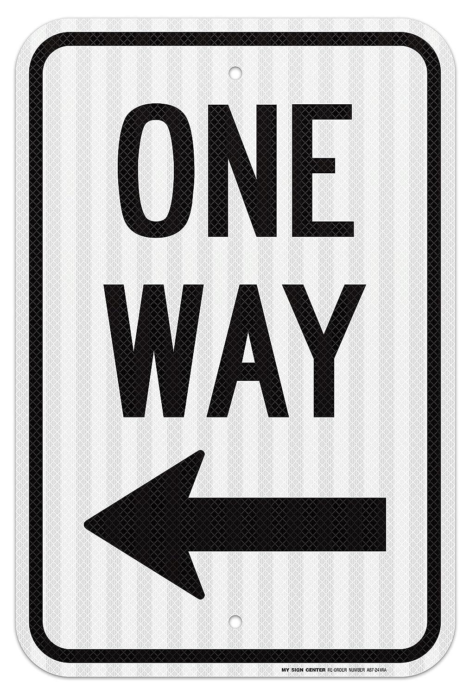 One Way con flecha hacia la izquierda Cartel - Ingeniero de ...
