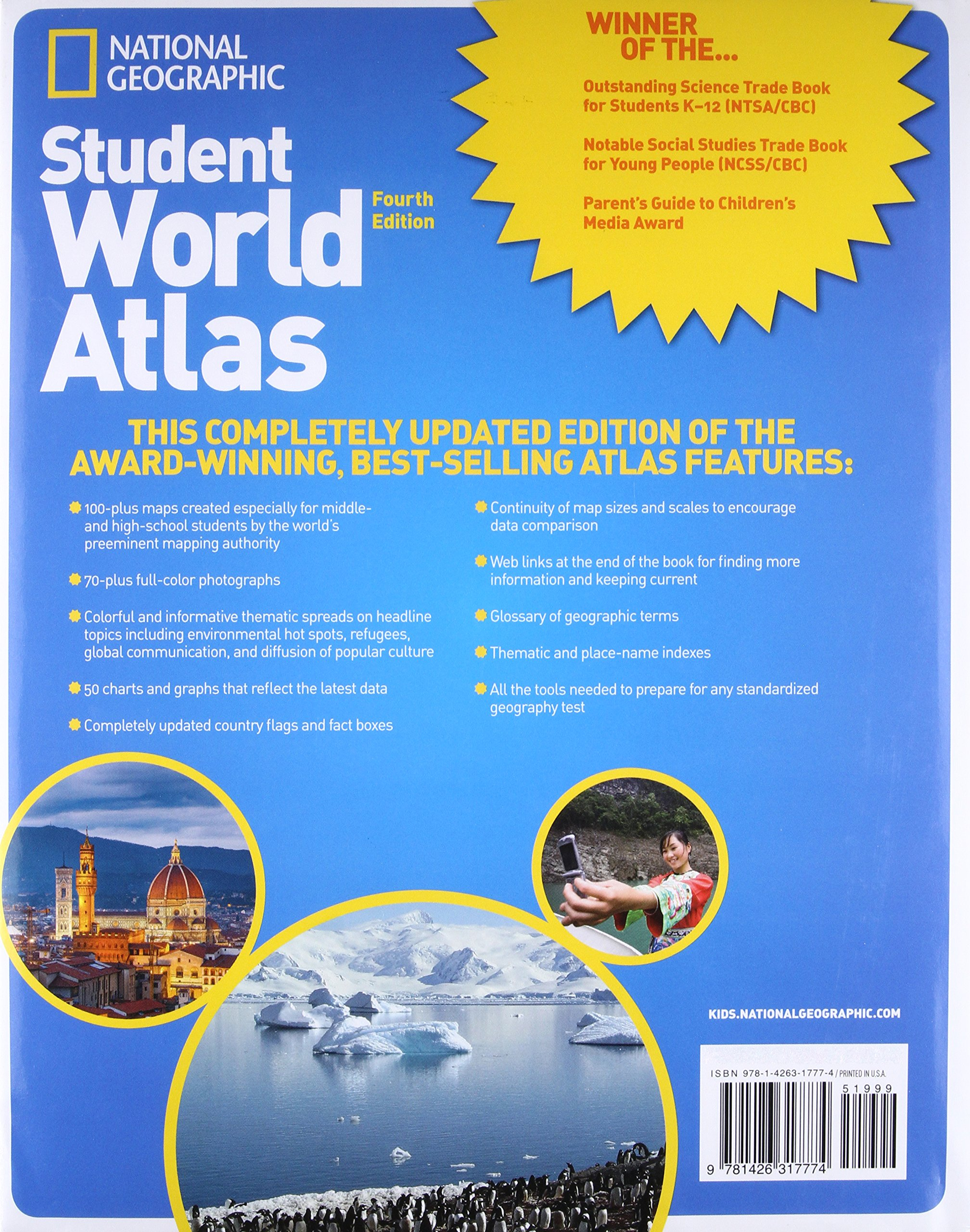 National Geographic Student World Atlas, Fourth Edition: Your Fact-Filled Reference for School and Home! by imusti (Image #2)