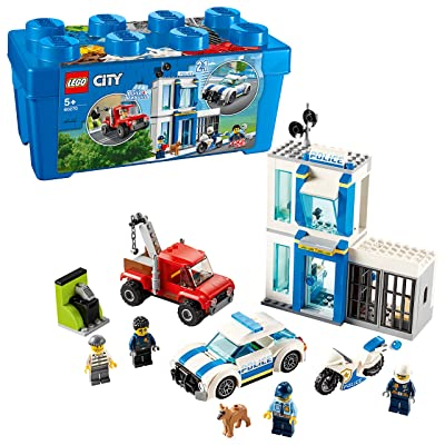 LEGO City Police Brick Box 60270: Toys & Games