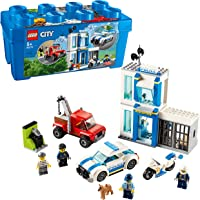 LEGO City Police 60270 Police Brick Box Building Kit (301 Pieces)