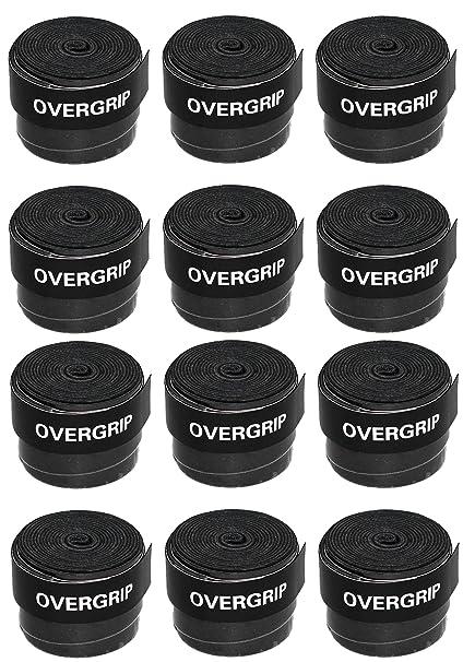 Squash Overgrip by SquashGalaxy (Black) (3-Pack)