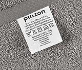 Pinzon 4 Piece Egyptian Cotton Bath Towels Set - Grey