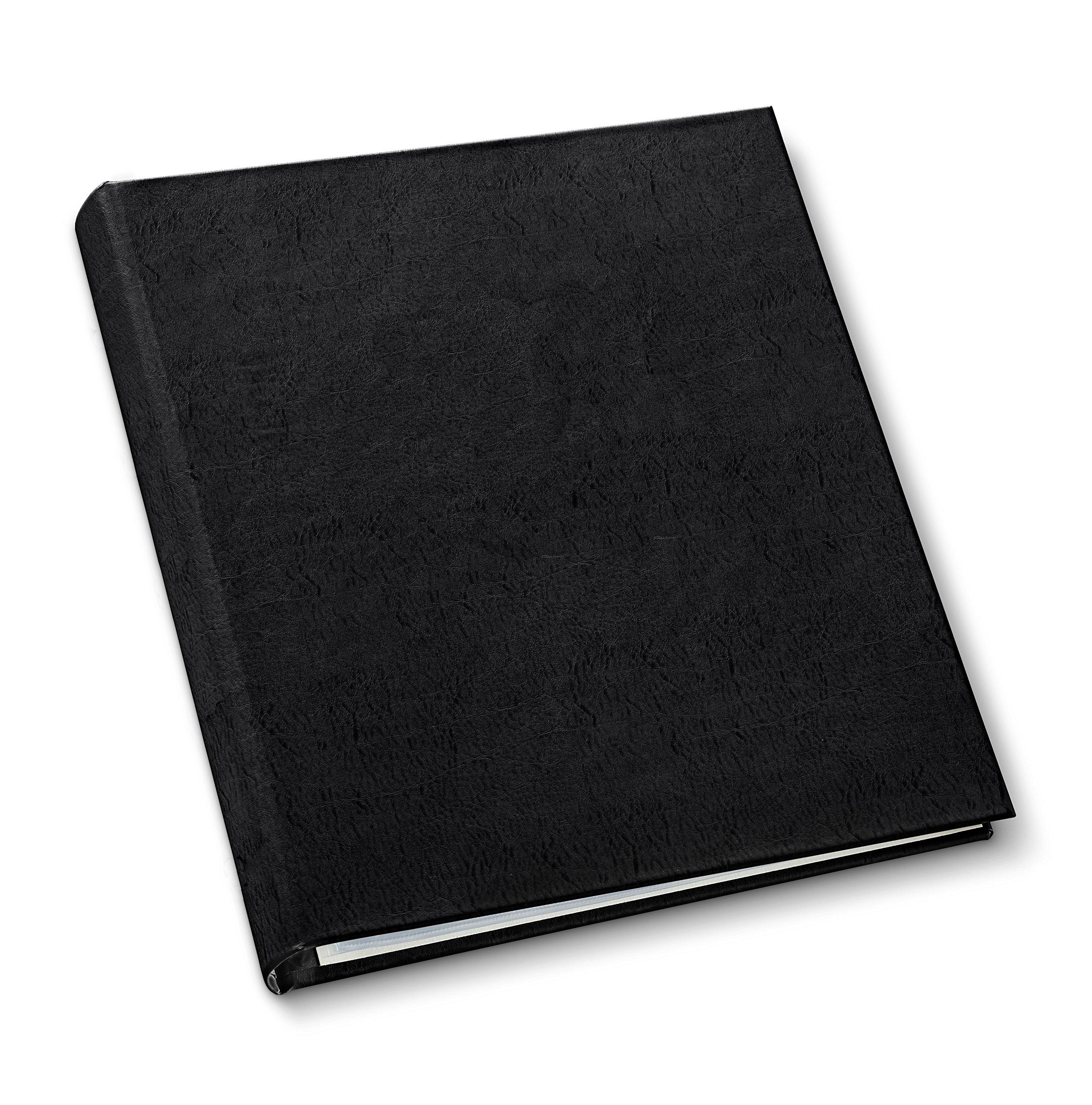 Gallery Leather Presentation Binder 1 1/4'' Freeport Black