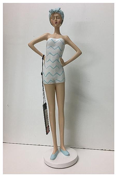 Jolipa Figura Figura Pin Up de Mujer Muscular Disfraz de baño ...