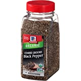 McCormick Coarse Ground Black Pepper (Organic, Non-GMO, Kosher), 12 oz