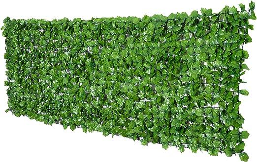 Outsunny Seto Artificial en Rollo 3x1m para Valla Balcón Barandilla Valla de Privacidad Planta Decorativa PE: Amazon.es: Jardín
