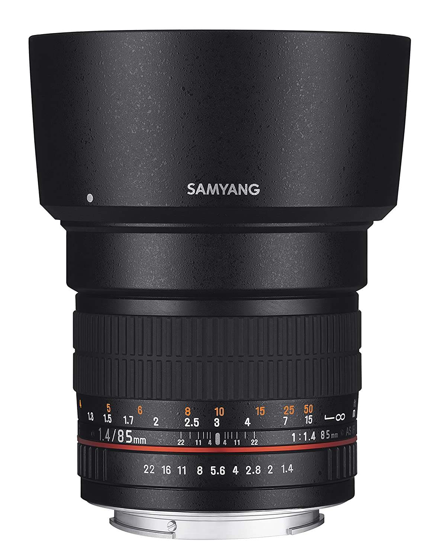 Samyang F Objetivo fotográfico DSLR para Fuji X distancia focal fija mm