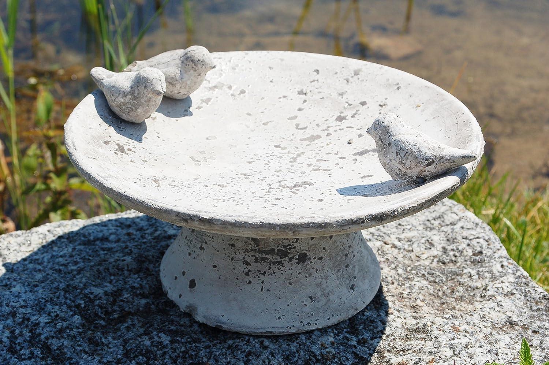 Vogeltränke Vogelbad Vogelbecken Gartendeko Vogel Tränke ...