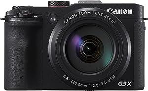 Canon PowerShot G3X - Cámara digital de 20.2 MP (zoom 25x, pantalla de 3.2