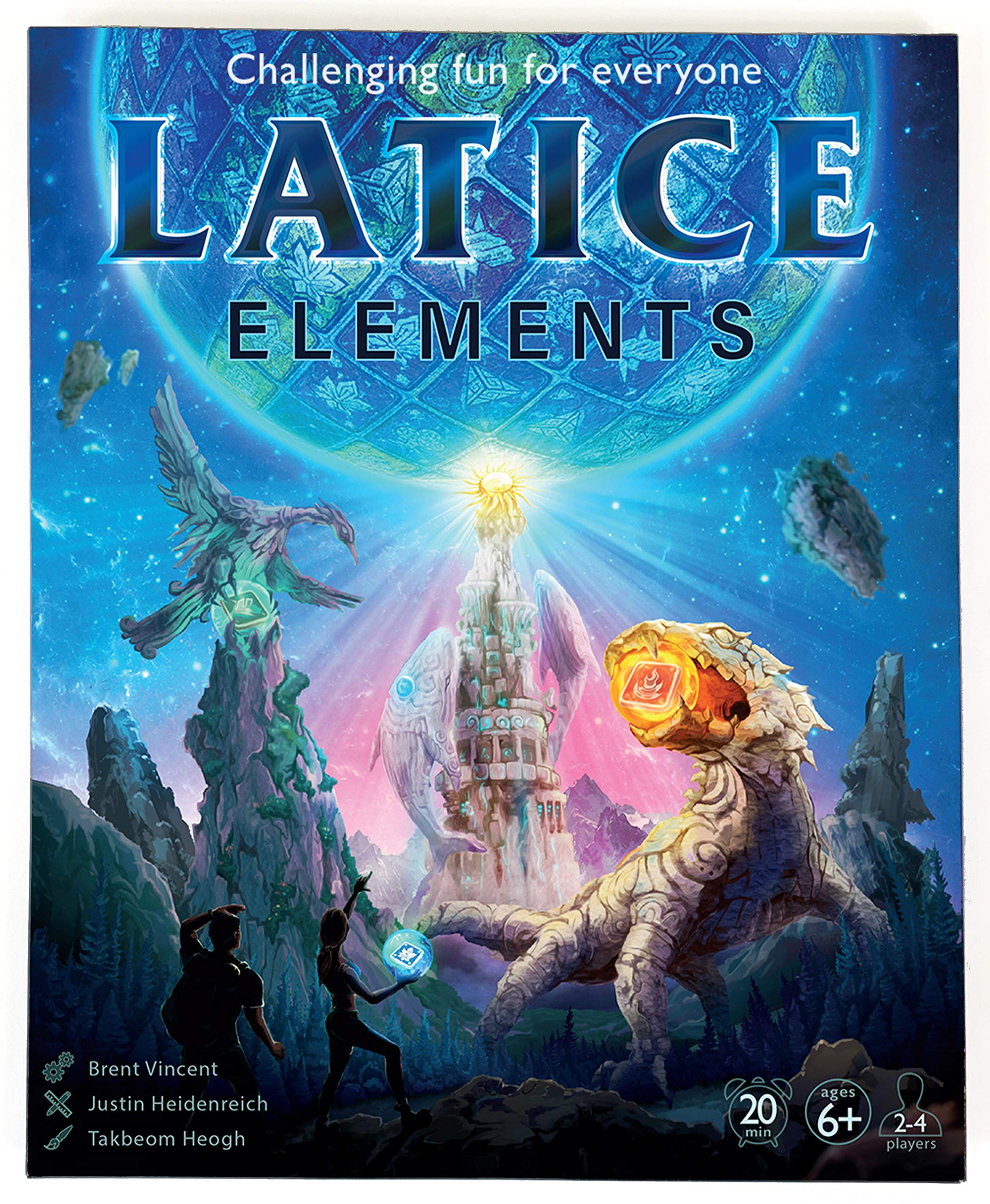 Latice Elements Strategy Card Game