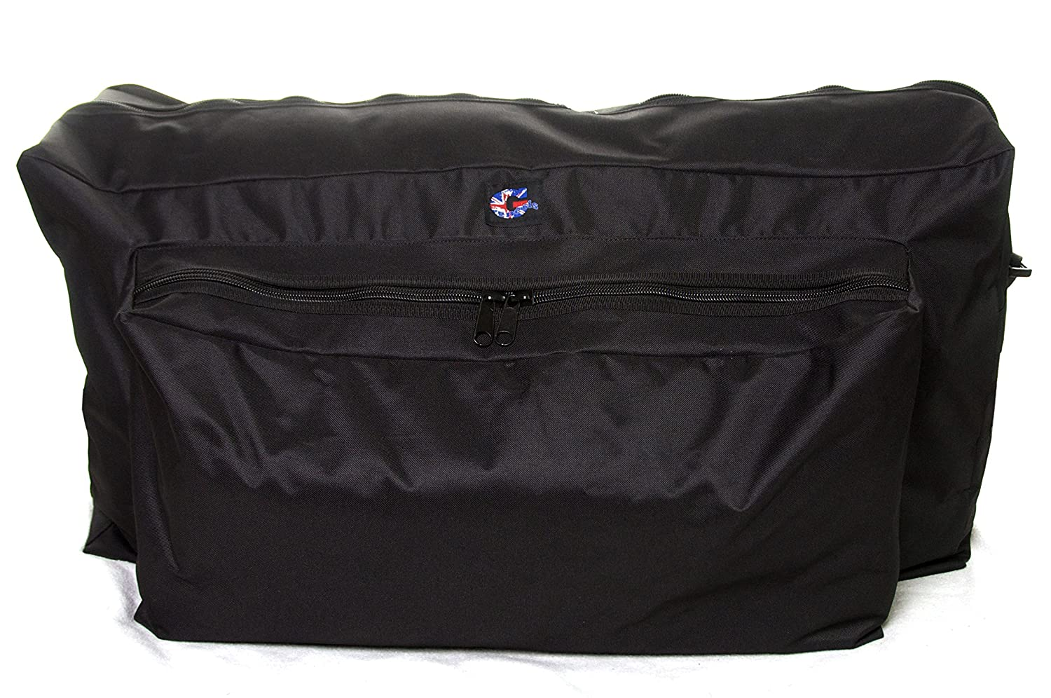 Genesis Pram Travel Bag. Made to measure pushchair bags for air travel. Midwater Luggage