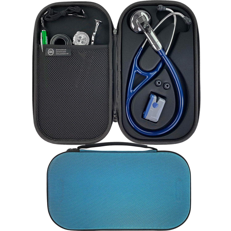 Pod Technical Cardiopod II - Funda para estetoscopios Littmann, color azul