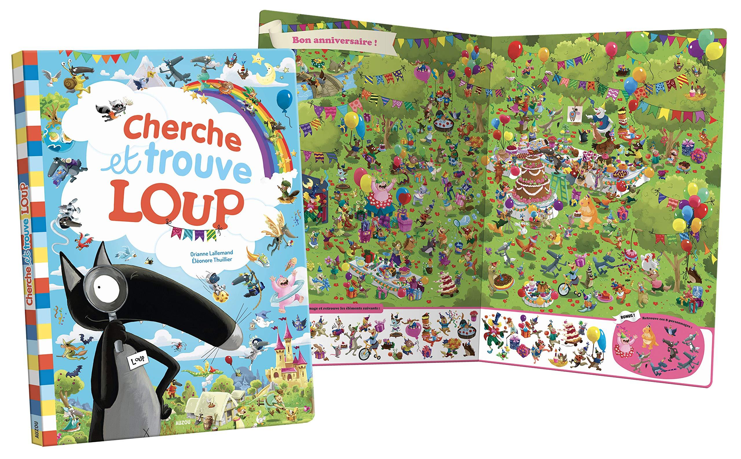 Amazon Fr Cherche Et Trouve Geant Du Loup Eleonore